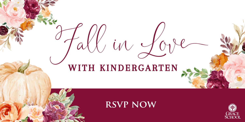Fall in Love with Kindergarten